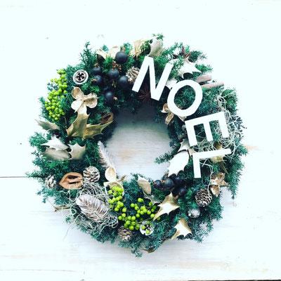 11月 長野 飯田1dayレッスン『フレッシュグリーンのクリスマスリース』