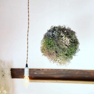 6月 長野 飯田1dayレッスン『スモークツリーのボールリース』作り