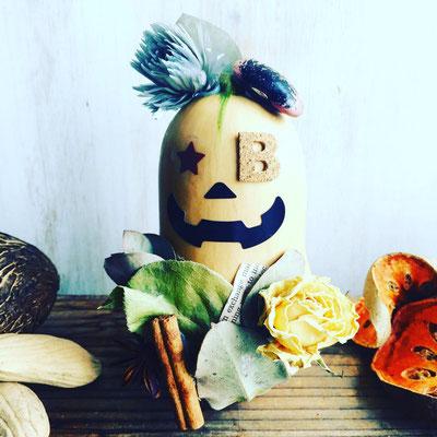 10月 〈長野 飯田市 ワークショップ〉『バターナッツかぼちゃのハロウィン飾り』作り
