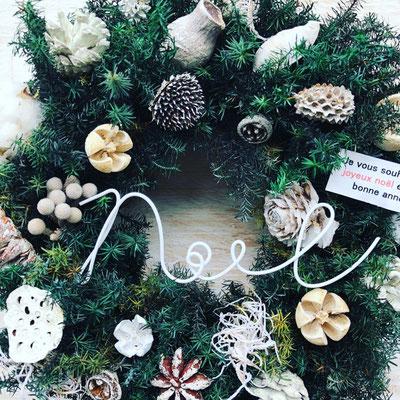 11月 飯田 クリスマスワークショップ『フレッシュグリーンのクリスマスリース』作り