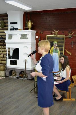 Руководитель музея Ольга Валентиновна Проводилова