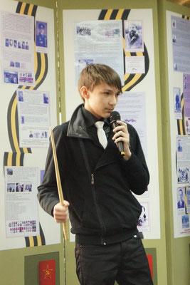 Станислав Колесов рассказывает о военном периоде О.Е.Филипповой.