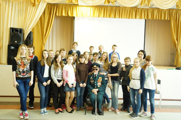 6 - Б класс с классным руководителем Глебовой Н.А.