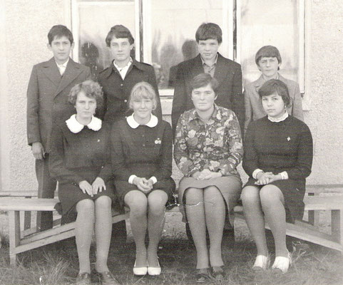 Герасимова Т.Н. с выпускниками 1979