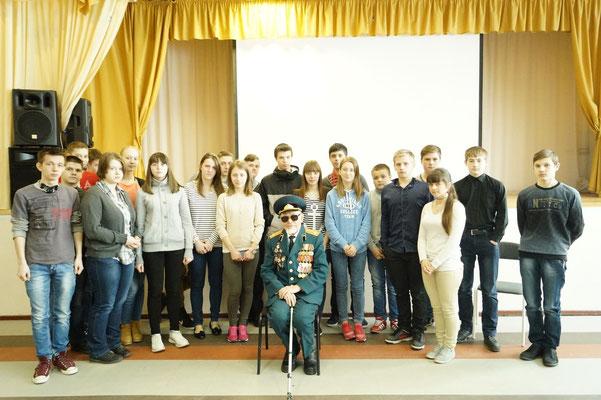 9 А класс с Павлом Павловичем