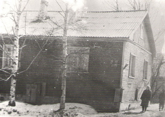 г.Кемь, ул.Пролетарская. В этом доме в 1941-42 гг. готовились разведчики-радисты.