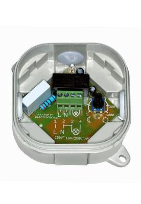 AZ-22 einstellbarer Dämmerungsschalter 230V 4000W 1-30-1000lx Innenansicht