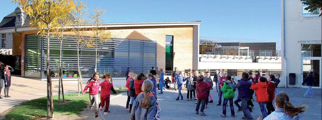 École Saint-Étienne | Le bâtiment des cycles 1 & 2 (Maternelle à CE1)