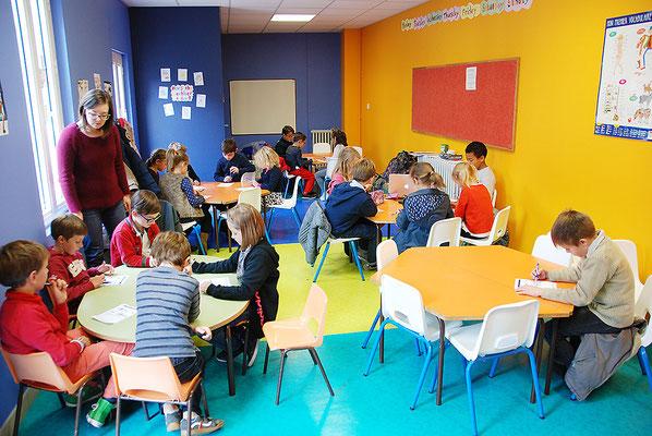 École Saint-Dominique |  Anglais à l'école