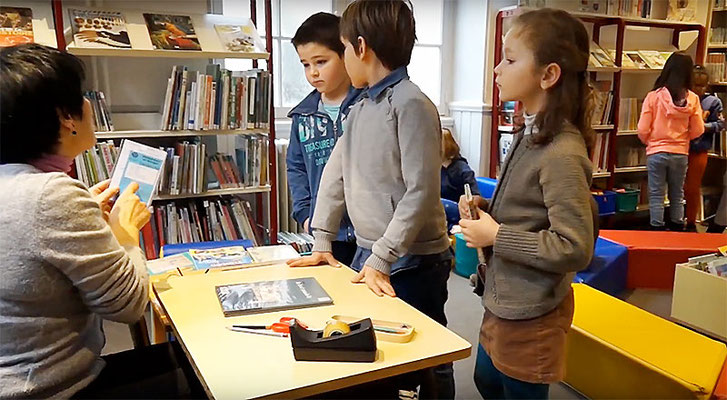 École Saint-Dominique | La bibliothèque