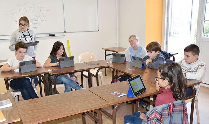 Pastorale du lycée Sainte-Marie | Grands catéchistes en classe de 5è