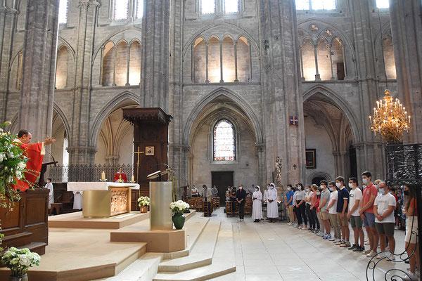 Messe de rentrée ESBC en la Cathédrale de Bourges (14 septembre 2020)