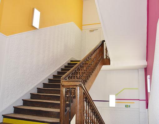 Collège Sainte-Marie | Rénovation de l'établissement (été 2017)