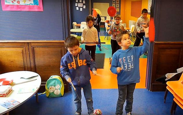 École Saint-Dominique | Ateliers du mercredi (arts du cirque)