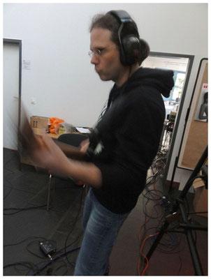 Tag 2: Aufnahme Schlagzeug