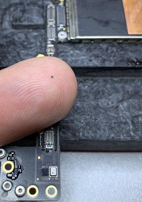 Ein defekter Filter lässt das Gerät nicht mehr starten.