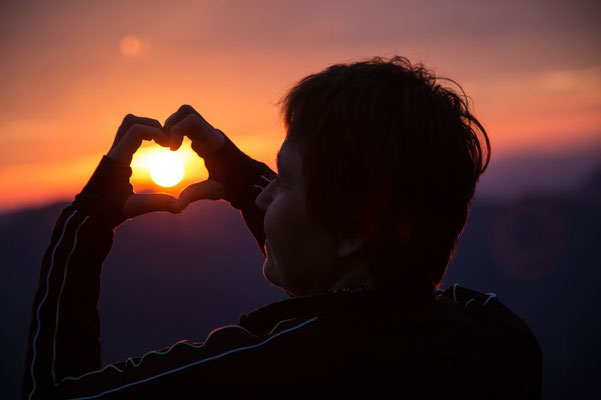 Ein Herz für die Sonne....