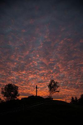 Die Wolken brennen