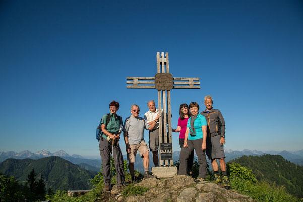 Gruppenfoto ohne Wanderführer :-)