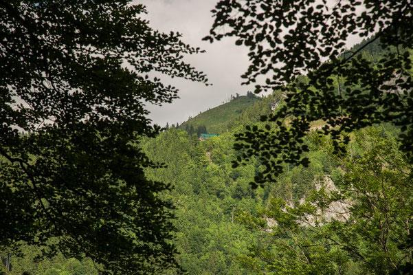 Ennserhütte im Blickfeld
