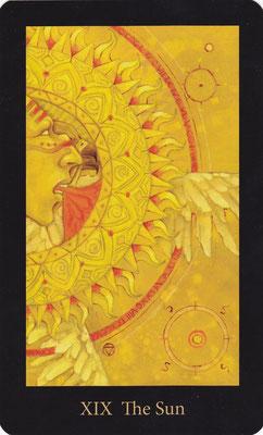 XIX Le Soleil - Mary El Tarot
