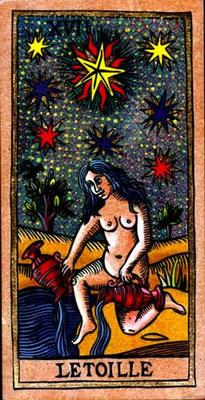 XVII L'Étoile -Le tarot de la Félicité