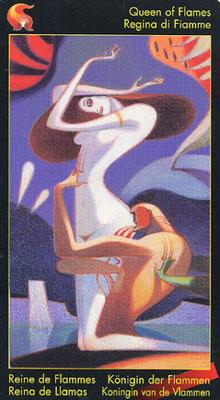 Reine de Flammes - Le tarot de Dante