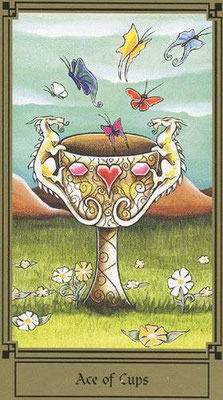 As de Coupes - Le tarot Fantastique