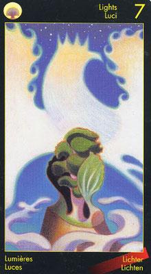 7 de Lumières - Le tarot de Dante