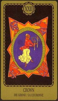 XXII Le Monde - Le tarot Egorov