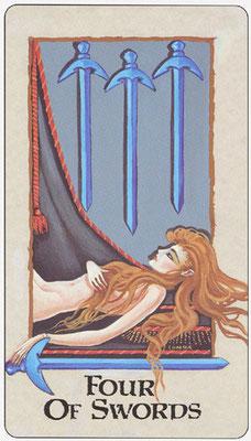 4 d'Épées - Londa Tarot