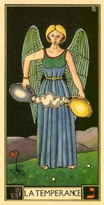 XIV Tempérance - Le tarot d'Argolance