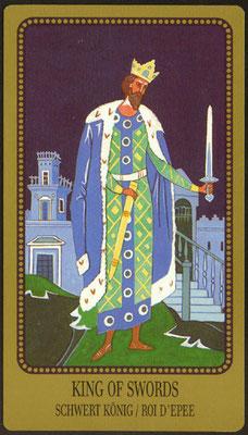 Roi d'Épées - Le tarot Egorov