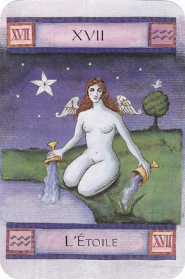 XVII L'Étoile - Art of Tarot