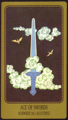 As d'Épées - Le tarot Egorov