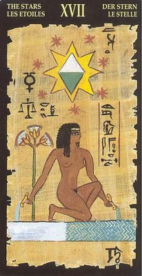 XVII L'Étoile - Le tarot Égyptien