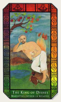 Roi de Coupes - Tarot Kalevala