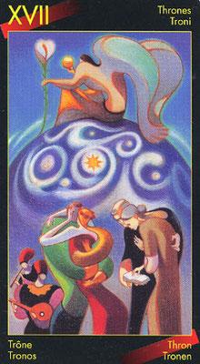 XVII L'Étoile - Le tarot de Dante