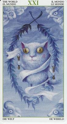 XXI Le Monde - Tarot de la Forêt Magique