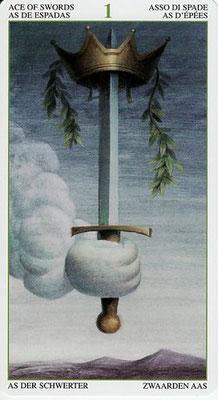 As d'Epées - Le Tarot de la Forêt Magique