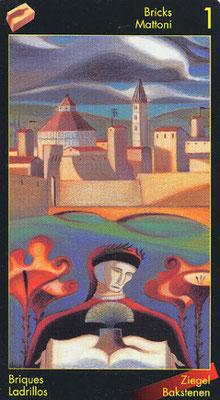 As de Briques - Le tarot de Dante