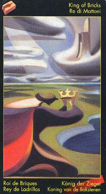 Roi de Briques - Le tarot de Dante