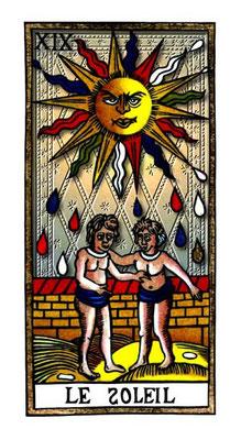 XIX Le Soleil - Le Tarot de la Félicité