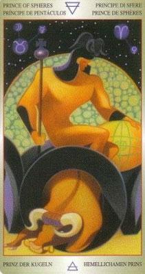Chevalier de Deniers - Liber T Stars Eternal Tarot