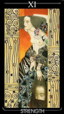 XI La Force - Tarot Klimt