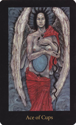 As de Coupes - Mary El Tarot