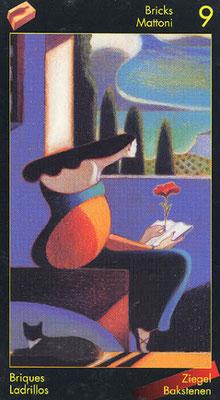 9 de Briques - Le tarot de Dante