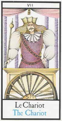VII Le Chariot - Tarot Maddonni
