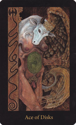 As de Disques - Mary El Tarot
