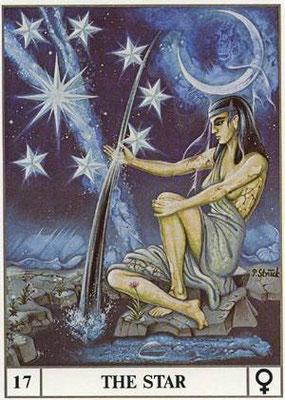 XVII L'Étoile - Le tarot Ansata